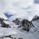 Panoramic View Of The Winter Mountains - VideoHive Item for Sale
