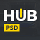 HUB - Powerful Blog & Magazine PSD Template - ThemeForest Item for Sale