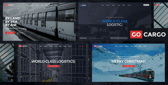 GoCargo - Freight, Logistics & Transportation WordPress Theme