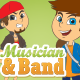 Musician and Band Creation Kit - GraphicRiver Item for Sale