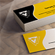 Business Card vCard Mock-up - GraphicRiver Item for Sale