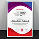 Multipurpose Certificate GD045 Bundle - GraphicRiver Item for Sale