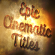 Epic Cinematic Titles - VideoHive Item for Sale