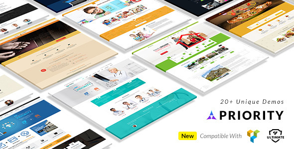 Priority -  Multipurpose Theme