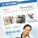 Vet Clinic / Pet Care Flyer - GraphicRiver Item for Sale