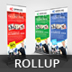 Multipurpose Business Roll Up Banner V33 - GraphicRiver Item for Sale