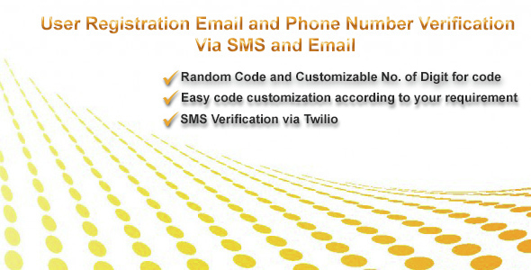 User Registration With Email and Phone Number Verification
