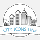 Linear Urban Icons - GraphicRiver Item for Sale