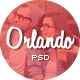 Orlando - Creative PSD Template - ThemeForest Item for Sale