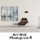 Art Wall Mock-up Vol.4 - GraphicRiver Item for Sale