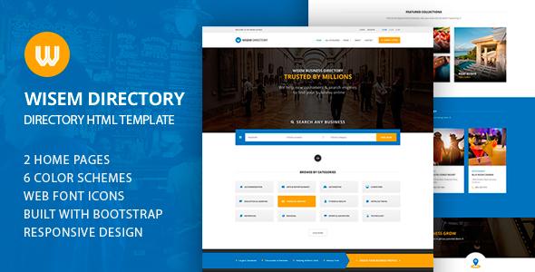 Wisem - Directory HTML