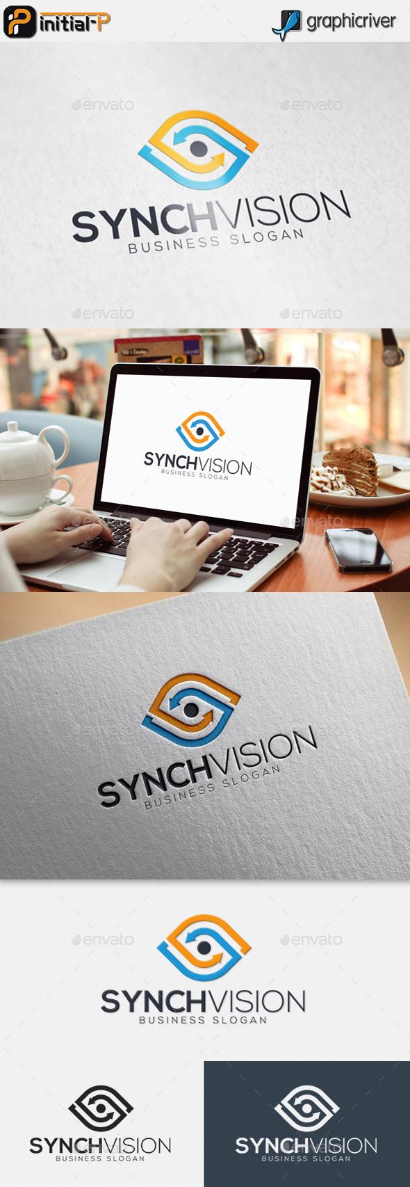Synch Vision - Eye Logo