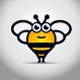 Big Bee Logo - GraphicRiver Item for Sale