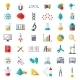 Physics, Chemistry, Biology Icons Set - GraphicRiver Item for Sale