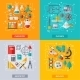 Flat Design Vector Concepts Education and Science - GraphicRiver Item for Sale