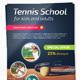Tennis School / Tournament A4 Flyer - GraphicRiver Item for Sale