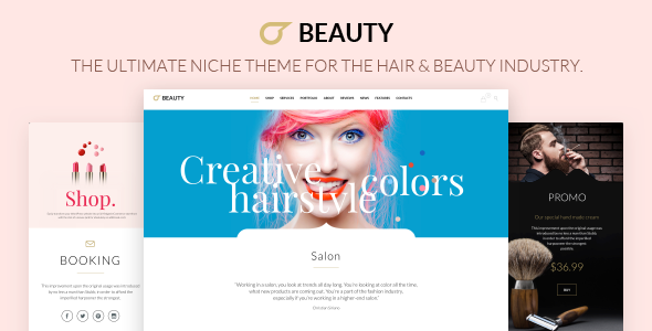 Hair Salon - Hairdresser WordPress Download