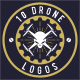 10 Drone Badges  - GraphicRiver Item for Sale