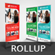 Business Roll Up Banner V34 - GraphicRiver Item for Sale
