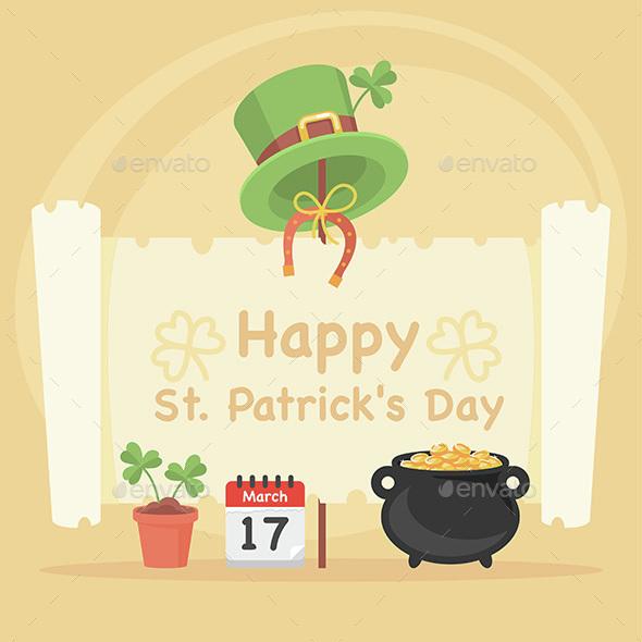 Concept Illustration St. Patrick's Day