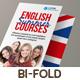 Language Course Bi-Fold Brochure - GraphicRiver Item for Sale