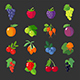 Set of Berries Icons - GraphicRiver Item for Sale