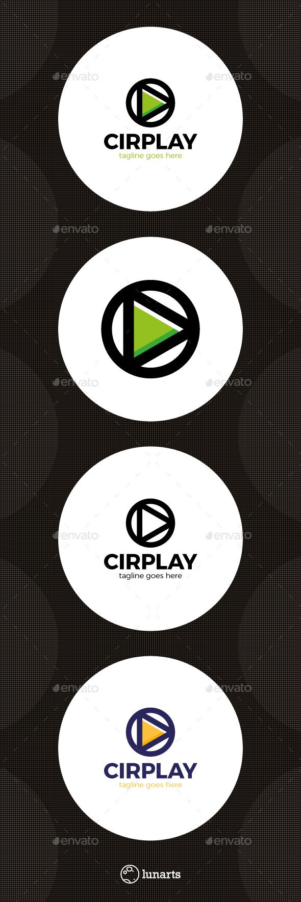 Circle Play Media Logo