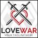 Love War / Love Warior Logo - GraphicRiver Item for Sale