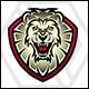 Lion Head / Lion Shield Logo - GraphicRiver Item for Sale