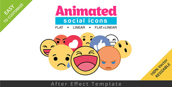Emoji After Effects Templates from VideoHive