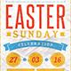 Easter Sunday Celebration Templates - GraphicRiver Item for Sale