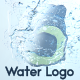 Water Logo - VideoHive Item for Sale