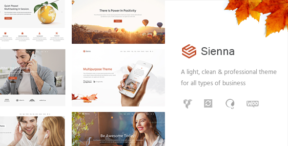 Sienna - Professional Business Theme