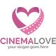 Cinema Love Logo Template - GraphicRiver Item for Sale