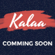 Kala - Coming Soon PSD Template - GraphicRiver Item for Sale