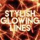 Stylish Glowing Lines Backgrounds - VideoHive Item for Sale