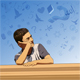 Thinking Boy - GraphicRiver Item for Sale