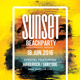 Sunset Beach Party Flyer Template - GraphicRiver Item for Sale