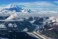 Flying over Glacier - PhotoDune Item for Sale