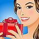 Woman with Gift Box - GraphicRiver Item for Sale