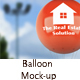 Advertising Balloon Mock-Up - GraphicRiver Item for Sale