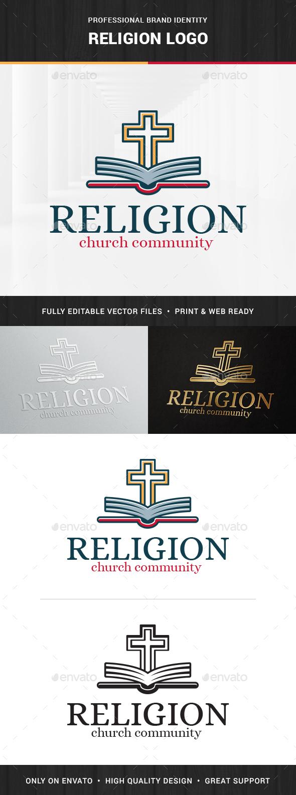 Religion Logo Template