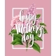Happy Mothers Day Lettering Card - GraphicRiver Item for Sale