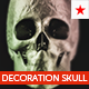 Decoration skull model - 3DOcean Item for Sale