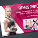 Fitness & Gym Postcard - GraphicRiver Item for Sale