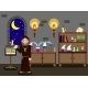 Old Alchemist in His Laboratory - GraphicRiver Item for Sale