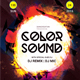 Color sound party flyer template - GraphicRiver Item for Sale