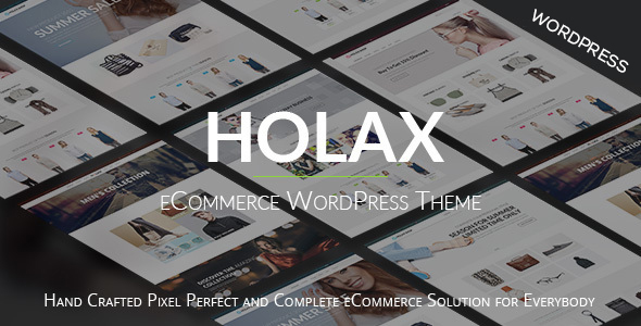 Holax –  Fashion WooCommerce  WP Theme