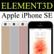 Element3D - iPhone SE - 3DOcean Item for Sale