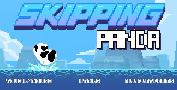Skipping Panda - HTML5 game Download